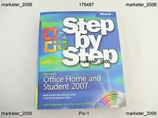 MICROSOFT OFFICE HOME AND STUDENT 2007 PREPPERNAU COX & FRYE 1ST EDITION BOOK
