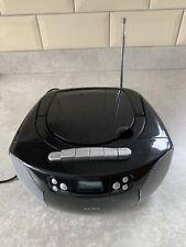 Alba KW-66C Portable CD Radio Cassette Player Working Order Blank Screen