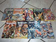 Armagedon - Lot 9 manga vf (tome 1 à 8 + 10)