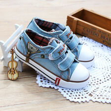 New Autumn Children's Denim Canvas Shoes Boys Girls Sneakers Kids Casual Shoes