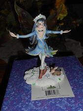 "Nib Fairy Site "" Snow Queen"" Resin Fairy Figurine Limited Edition Rare"