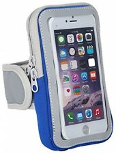DeLong Cell Phone Armband Case 5.5 Blue For Iphone 6 6s Plus Samsung Best Suit