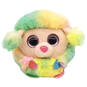 Beanie Boos Ty Puffies Rainbow Poodle