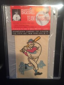 Vintage San Francisco Giants Baseball IRON ON TRANSFERS MLB