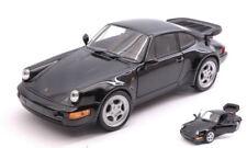 Porsche 911 Turbo 3.0 1974 Black 1:24-27 Model 24023BK WELLY
