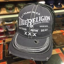 NEW True Religion Men's Cap Hat TR1009 Factory Grey