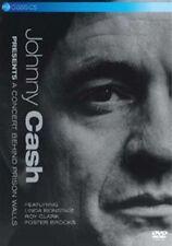 Johnny Cash a Concert Behind Prison Walls 5036369803193 DVD Region 2