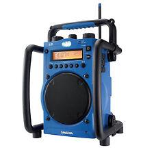 Sangean Am/Fm Digital Tuning Ultra Rugged Clock/Alarms Acc. in Jacks U-3 Am/Fm