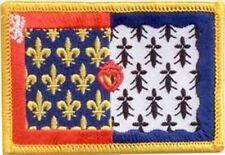 Aufnäher Pays de La Loire Fahne Flagge Aufbügler Patch 8 x 5 cm