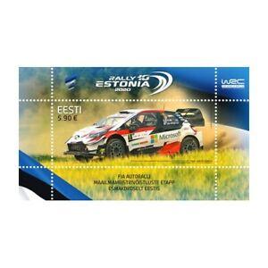 Estonia 2020 World Rally Championship Estonia Souvenir Sheet MNH