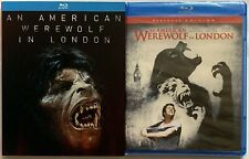 New An American Werewolf In London Restored Edition Blu Ray + Rare Oop Slipcover