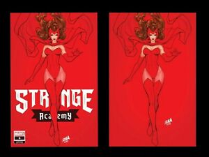 Strange Academy #6 David Nakayama Virgin & Trade Set In hand NM 12/16/2020