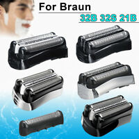 Electric Shaver Head Replacement Foil Cutter for Braun 32B 32S 21B Series 3
