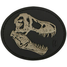 Maxpedition T-Rex Tyrannosaurus Skull Patch Moraal 3D Rubber Badge Swat