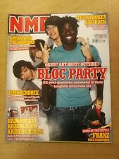 NME SEPTEMBER 17 2005 JIMI HENDRIX BLOC PARTY RADIOHEAD RAZORLIGHT KAISER CHIEFS