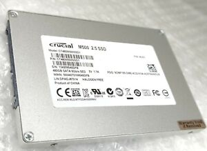 "480GB CRUCIAL M500 2.5"" 7mm SSD Solid State Drive"