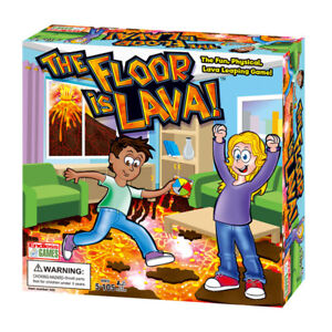 Kids and Adults Lava jumping The Floor is Lava Easy to Play Family Board Game AU
