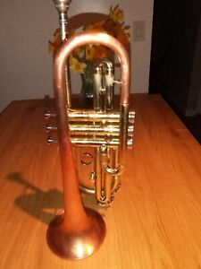 FREE!!!!! ..shipping to CANUS1964 Conn Coprion Cornet . NEW PRICE!