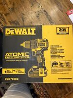 DEWALT DCD708C2 20V MAX Brushless Compact 1/2in Drill Driver Kit