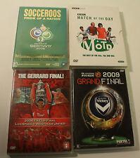 Bulk Soccer DVDs x 4 Socceroos Gerrard Final, Match of The Day 60s 70s