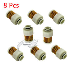 8x Fuel Filter For 4 Stroke Outboard Motor 75 90 HP 115HP Mercury 881540 18-7979