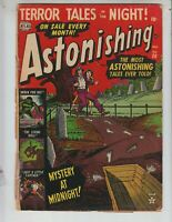 "Astonishing 20 Good Plus (2.5) 12/52 ""Mystery At Midnight!"""