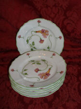 6 DENBY YOUR MAJESTY FINE CHINA PORTUGAL TABLETOPS DESIGN BREAD & BUTTER PLATES
