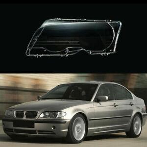 1Pc Left Side Headlight Clear Lens Cover For BMW 330Ci M3 E46 323Ci 325Ci 328Ci