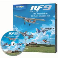 RealFlight RF9 Radio Control RC Flight Simulator Software Only - RFL1101