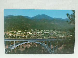 Vintage View Of The Residential Section Of Los Alamos New Mexico Postcard