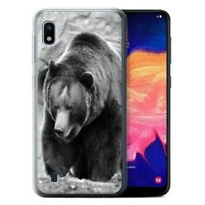 Animaux de zoo Coque Gel pour Samsung Galaxy A10 2019/Ours