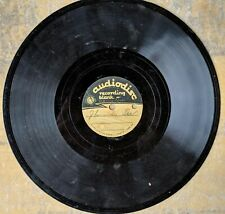 UNIDENTIFIED ORCHESTRA 78rpm 10-inch ACETATE: I Surrender Dear/My Man Audiodisc