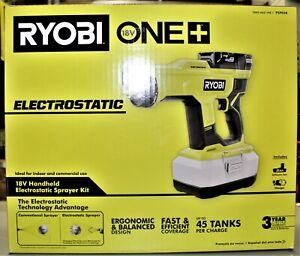 Ryobi ONE+ 18V Cordless Handheld Electrostatic Sprayer Kit #PSP02K