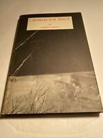 I Search For Peace Robert Barron 1972 First Edition Book Of Poems