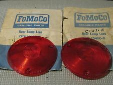 NOS 1957-1967 Ford Truck and Van Taillight Lens set..read...