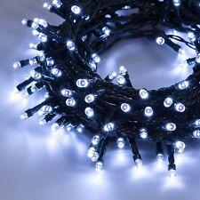 Luci di Natale Catena 7,50m - 180led Reflex c/controller - bianco GHIACCIO