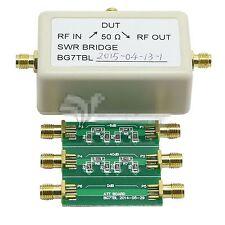 2in1 swr Electronic Bridge 1m-500m standing wave Bridge + 6db 40db Attenuator