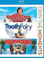 Gullivers Travels/Tooth Fairy/Marmaduke (Blu-ray Disc, 2013)  Brand NEW