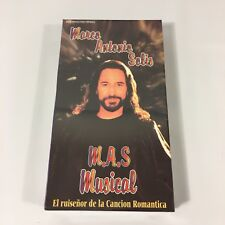 Marco Antonio Solis VHS Musica Romantica Grupo Los Bukis New Rare VHS Video