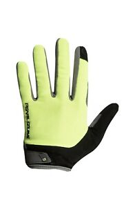 NEW! Pearl Izumi Attack Full Finger Cycling Gloves Unisex 14341902 Yellow XL