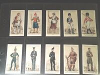 1939 Players UNIFORMS OF THE TERRITORIAL ARMY set  50 Tobacco cards complete
