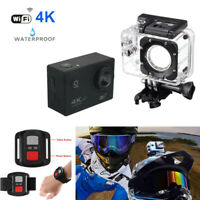 Motorcycle ATV Sport DV Helmet Sports DV 4K WiFi Video Camera Driving Recorder