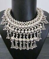 Fashion Bib Necklace Choker Earrings Statement Jewelry Boho Gypsy Hippie Kuchi