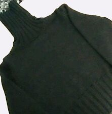 DOLCÉ & GABBANA   Made In Italy  Womens  Black  Turtleneck Sweater !