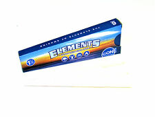 Elements Pre Rolled 1 1/4 Cones - 6 Cones in 1 Pack - Ultra Thin Rice Cone RYO