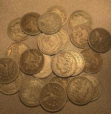 (1) Circulated MORGAN SILVER DOLLAR LOT - 1878-1921 Raw (non-cull) $1 Morgans