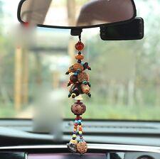 Car Mirror Pendant Car Interior Jewelry Decor Bodhi Son Hanging Ornament