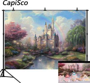 Photography Background Fairy Tale Treasure Birthday Party Cartoon Photo Backdrop
