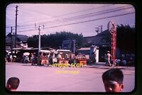 1950's Taiwan, Street Scene, Original 35mm Slide b15b