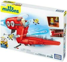 **BNIB** Mega Bloks Minions Supervillian Jet  472 pieces